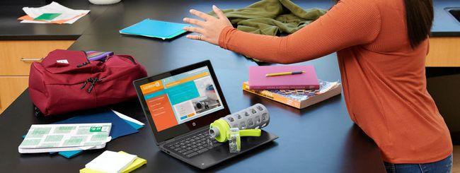 HP svela nuovi Chromebook per la scuola