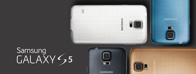 Samsung Galaxy S5 16 GB offrirà 10,7 GB di spazio