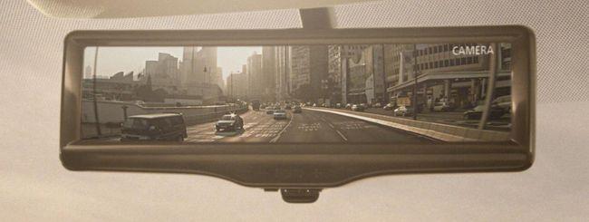 Nissan Smart Rearview Mirror: retrovisore LCD