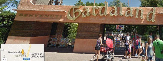 Gardaland: il parco divertimenti è su Street View