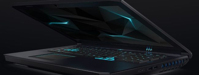 Acer Predator Helios 500 disponibile in Italia