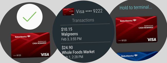 Android Pay arriva sugli smartwatch Android Wear