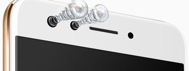 Oppo F3, smartphone con dual selfie camera