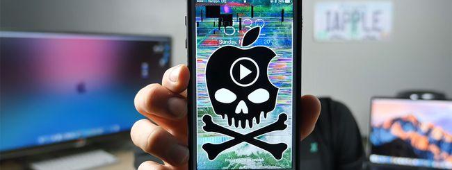 Il video che manda in crash iPhone e iPad
