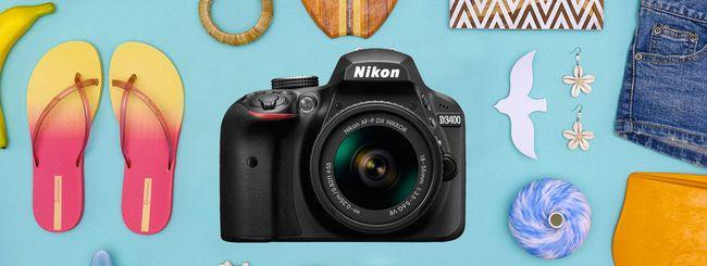 Nikon D3400, per avvicinarsi al mondo reflex