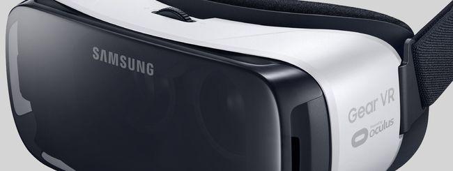 Samsung Galaxy S7 in live streaming a 360 gradi