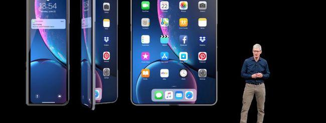 iPhone pieghevole: Apple brevetta il display auto-riparante
