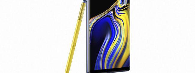 Galaxy Note 9, la S Pen diventa un telecomando