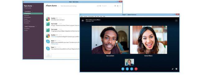 Skype, arriva l'integrazione con Slack