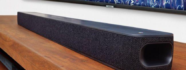 JBL Link Bar, la soundbar con Android TV