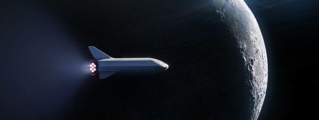 SpaceX porterà un uomo in orbita attorno alla Luna