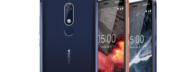 Nokia 5.1 disponibile in Italia