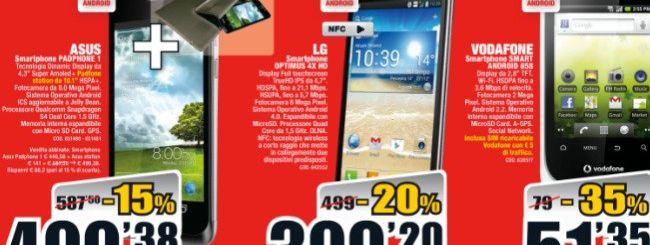 Mediaworld: ASUS Padfone a 499 euro