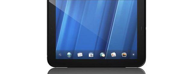 HP TouchPad, un tablet per sfidare l'Apple iPad 2