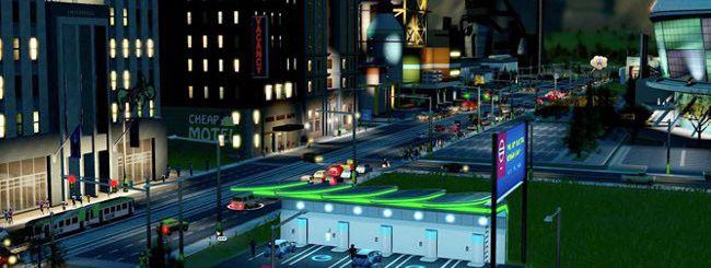 Nissan Leaf, tra le strade di SimCity