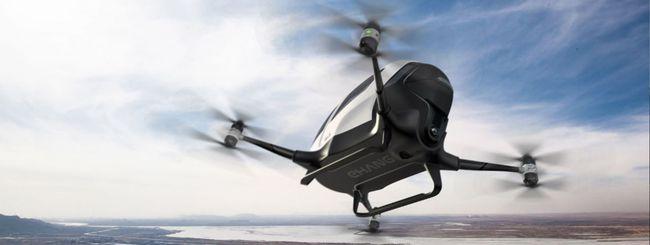 EHang 184, il taxi drone volerà a Dubai