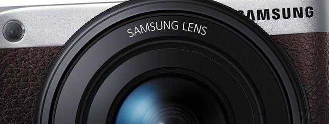 Samsung NX500, mirrorless da 28,2 MP con video 4K