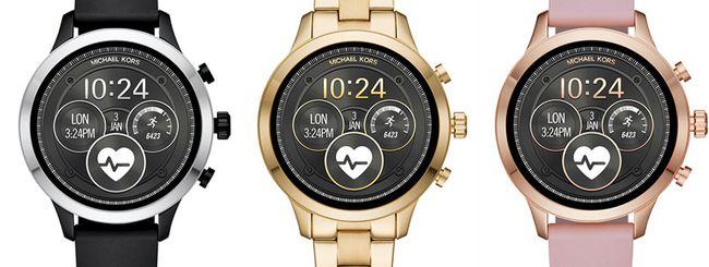Michael Kors Access, nuovo smartwatch Wear OS