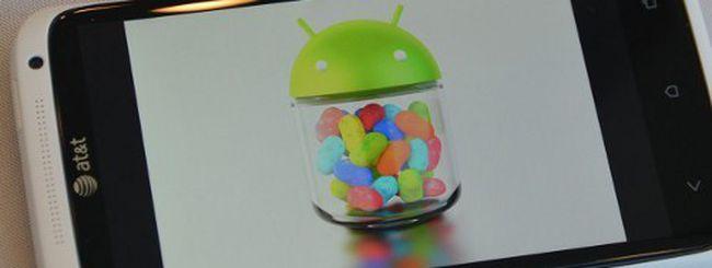 Android 4.1 Jelly Bean, quando su HTC One X?