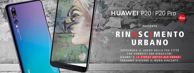 Huawei lancia il contest Rinascimento Urbano