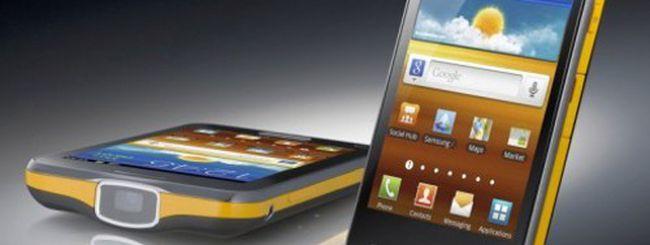 Samsung Galaxy Beam arriva in Europa