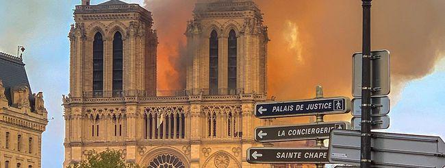 Incendio Notre Dame: Tim Cook promette donazioni