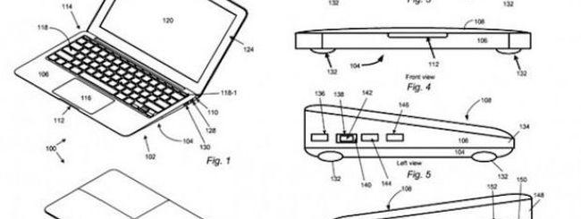 Apple tenta di brevettare il design del MacBook Air