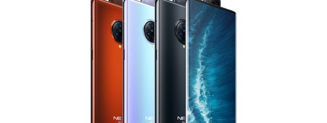 Vivo NEX 3S 5G, schermo Waterfall e 12 GB di RAM