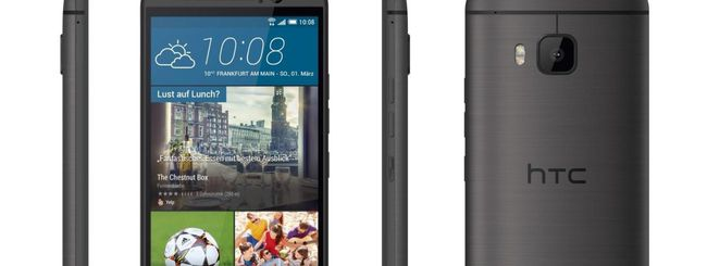 HTC One M9 riceve Android 5.1 in Italia