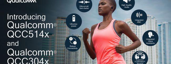 Qualcomm annuncia nuovi chip audio Bluetooth