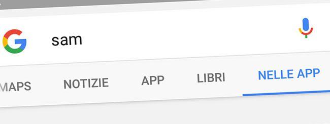 Google: ricerca dei contenuti nelle applicazioni