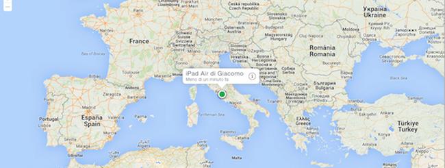 iCloud, Apple abbandona del tutto Google Maps