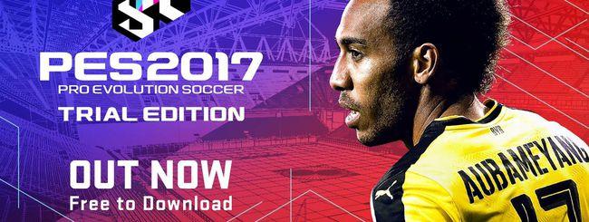 PES 2017 Trial Edition in download gratuito