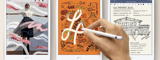 iPad mini, Apple lancia i nuovi modelli con Chip A12 e Apple Pencil