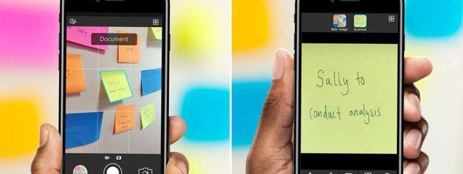 Microsoft Pix per iOS riconosce i documenti