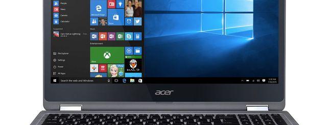 Acer amplia la gamma di notebook Aspire