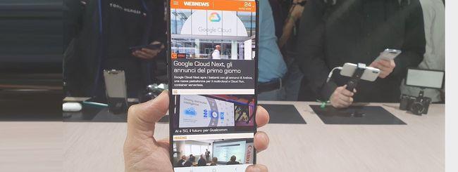 Samsung Galaxy A80, le prime impressioni