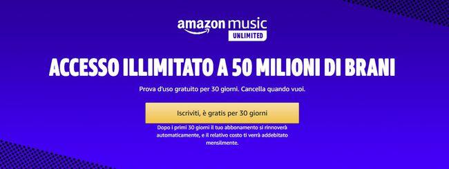 Amazon Music, gratis 70 giorni con Sanremo 2020