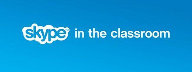 Skype torna a scuola