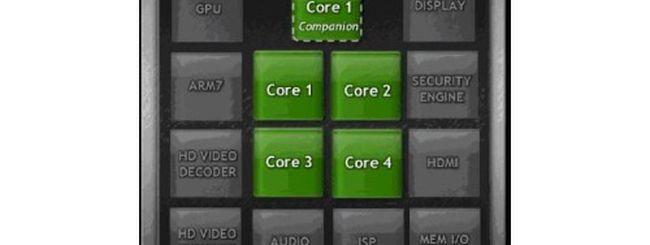 NVIDIA Tegra 3: SoC quad core a 1,4 GHz