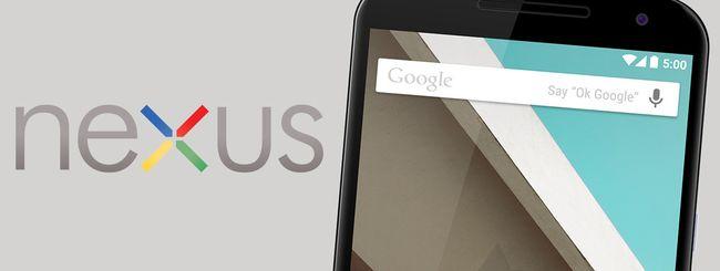 Google Nexus, specifiche del modello LG