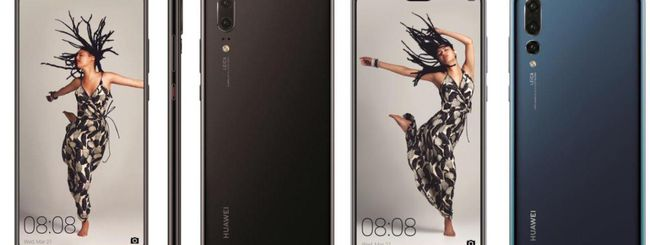 Huawei P20, P20 Pro e P20 Lite, immagini ufficiali