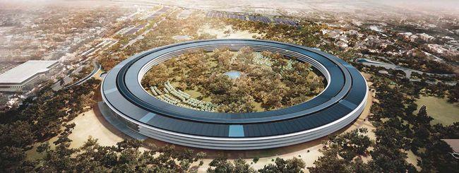 La Spaceship di Cupertino intitolata a Steve Jobs