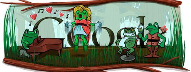 Gioachino Rossini celebrato con un doodle