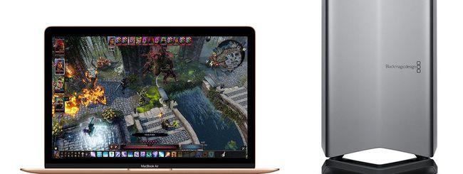 MacBook Pro: posticipata la eGPU Blackmagic