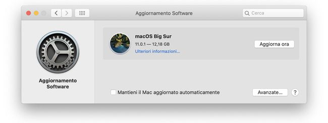 macOS Big Sur: Disponibile per il download