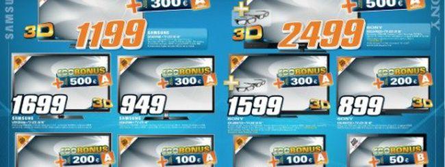 """Saturn: """"Eco-Acquisti = Ecobonus"""" fino a 500€"""