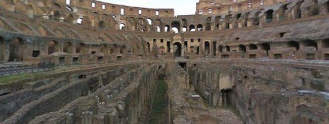Street View entra nell'arena del Colosseo