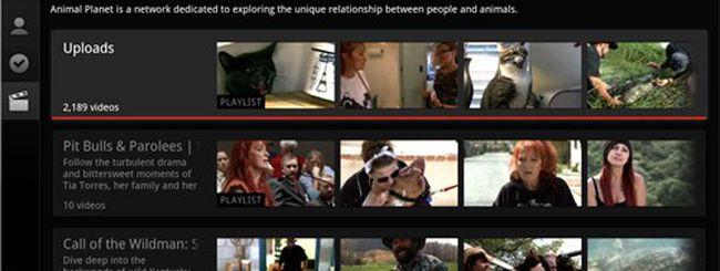 Google TV, aggiornata l'app di YouTube