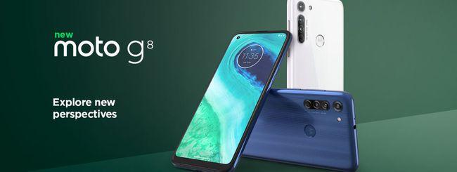Motorola annuncia il Moto G8